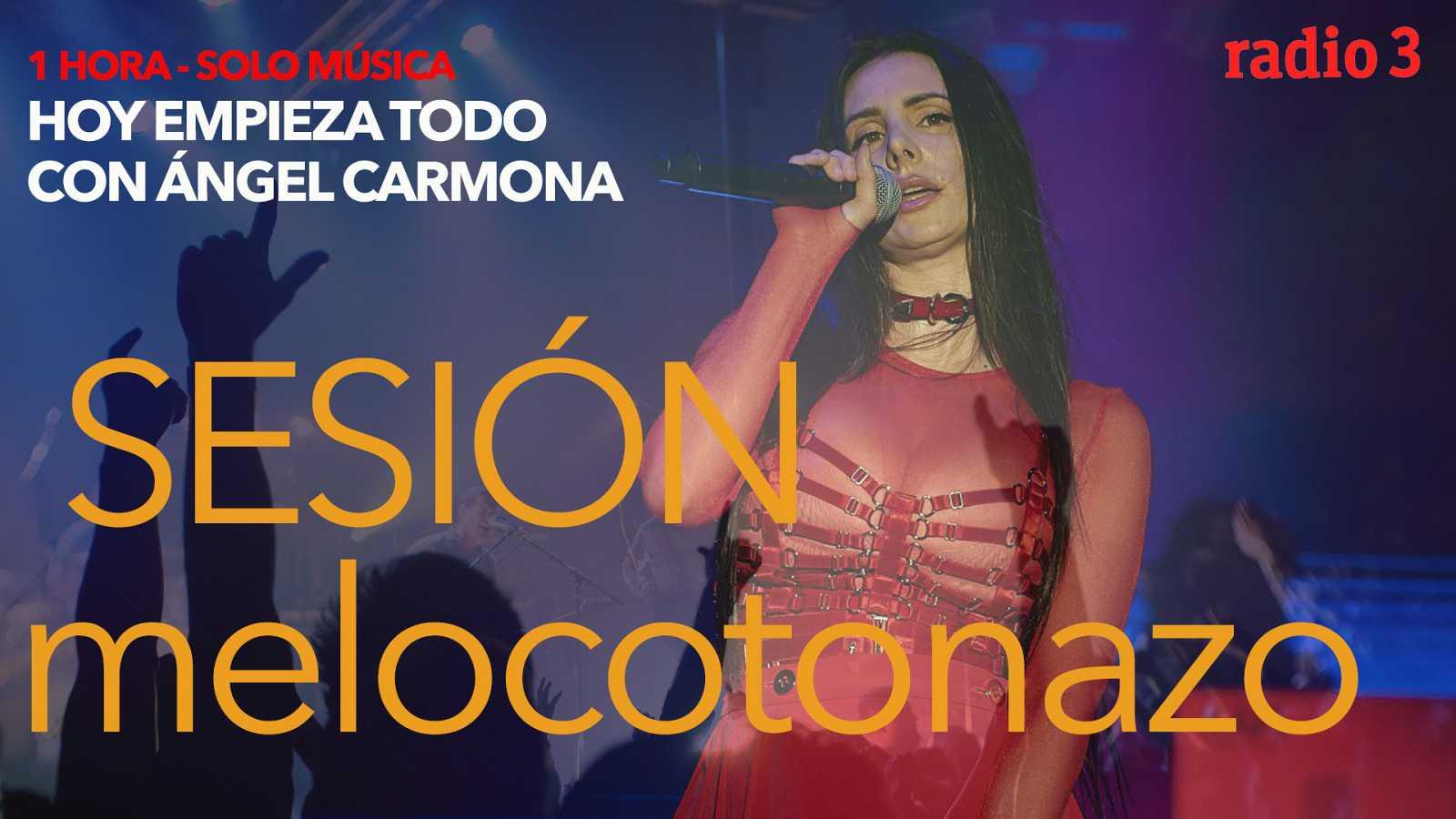Hoy empieza todo con Ángel Carmona - #SesiónMelocotonazo: Charly García, Mala Rodríguez, The Weeknd... - 23/10/20 - escuchar ahora