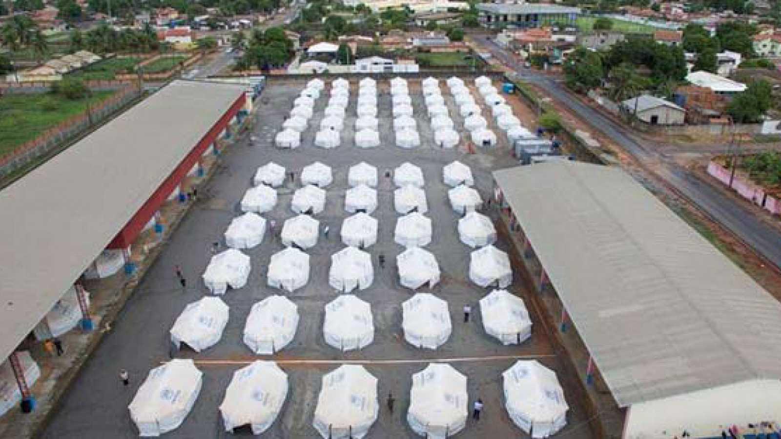 Emissão em português - Visitamos um abrigo para refugiados venezuelanos em Boa Vista - 22/10/20 - escuchar ahora