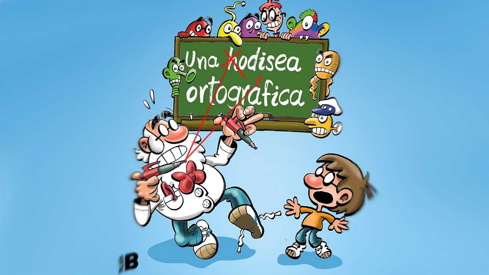 Un idioma sin fronteras - Una odisea ortográfica con 'El profesor don Pardino' - 24/10/20 - escuchar ahora