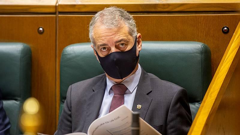 14 horas - Urkullu pide al Gobierno que declare el estado de alarma en el País Vasco - Escuchar ahora