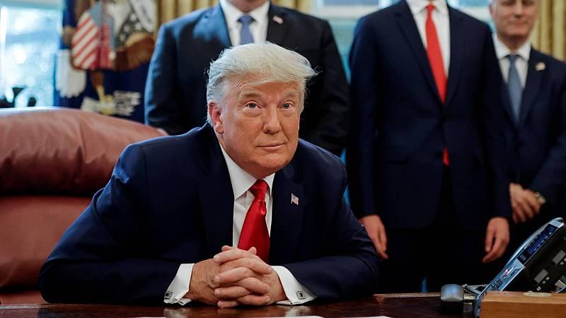 Informativos fin de semana - 14 horas - Trump afirma que otros países como Sudán normalizarán relaciones con Israel - Escuchar ahora