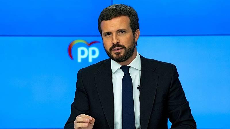 14 horas Fin de Semana - Moncloa busca el apoyo del PP para sacar adelante una prórroga del estado de alarma - Escuchar ahora