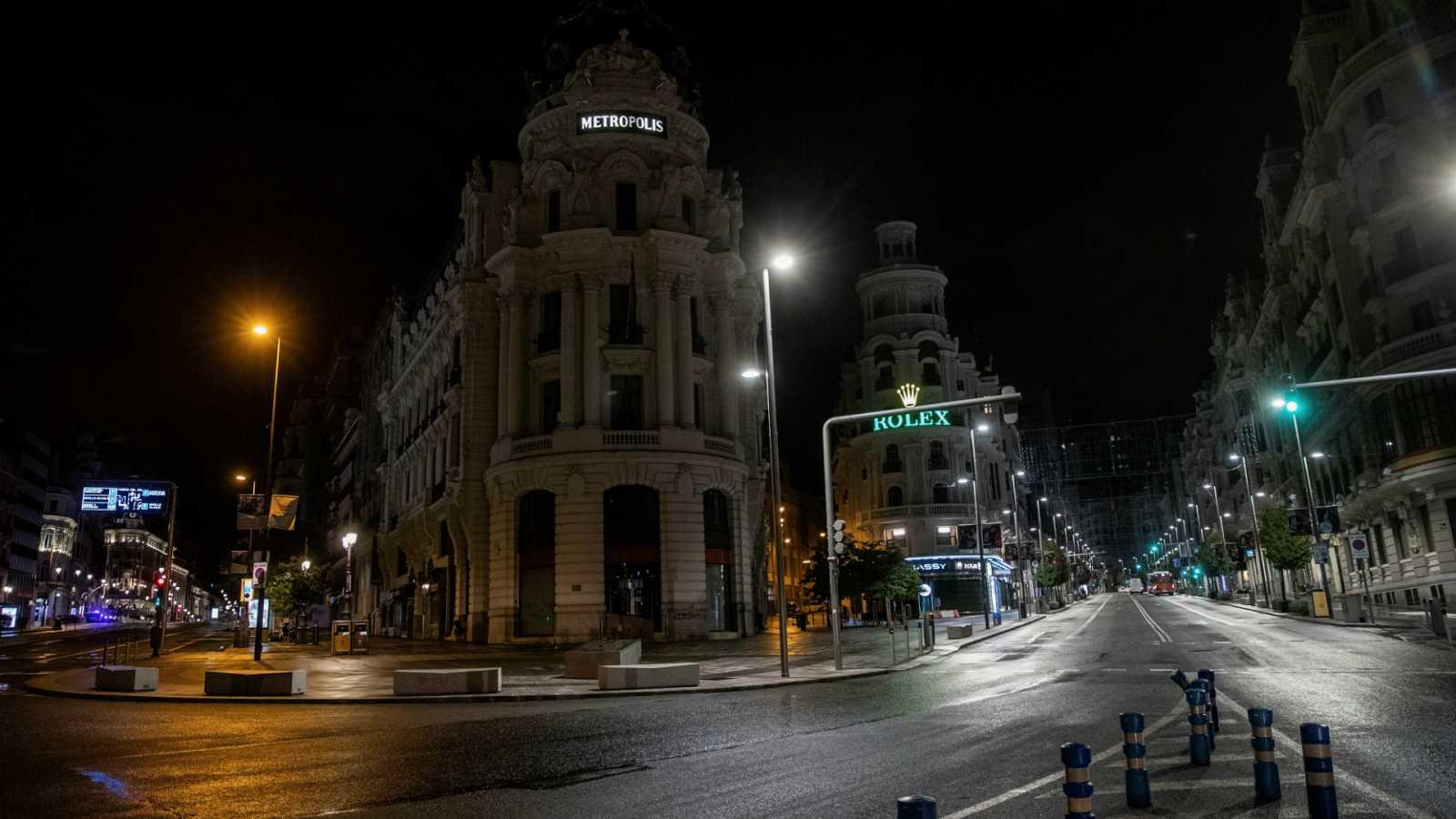 Las mañanas de RNE con Íñigo Alfonso - Los ciudadanos de Madrid afrontan el estado de alarma de forma dispar - Escuchar ahora