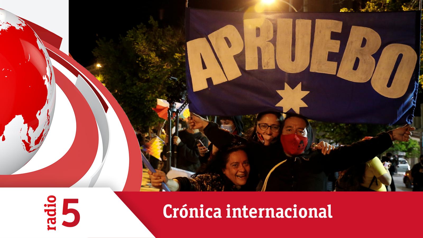 Crónica internacional - Chile enterrará la Constitución del dictador - Escuchar ahora