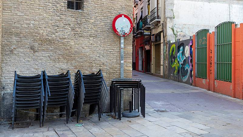 14 horas - Aragón decreta el confinamiento perimetral a partir de mañana y Asturias se lo plantea - Escuchar ahora