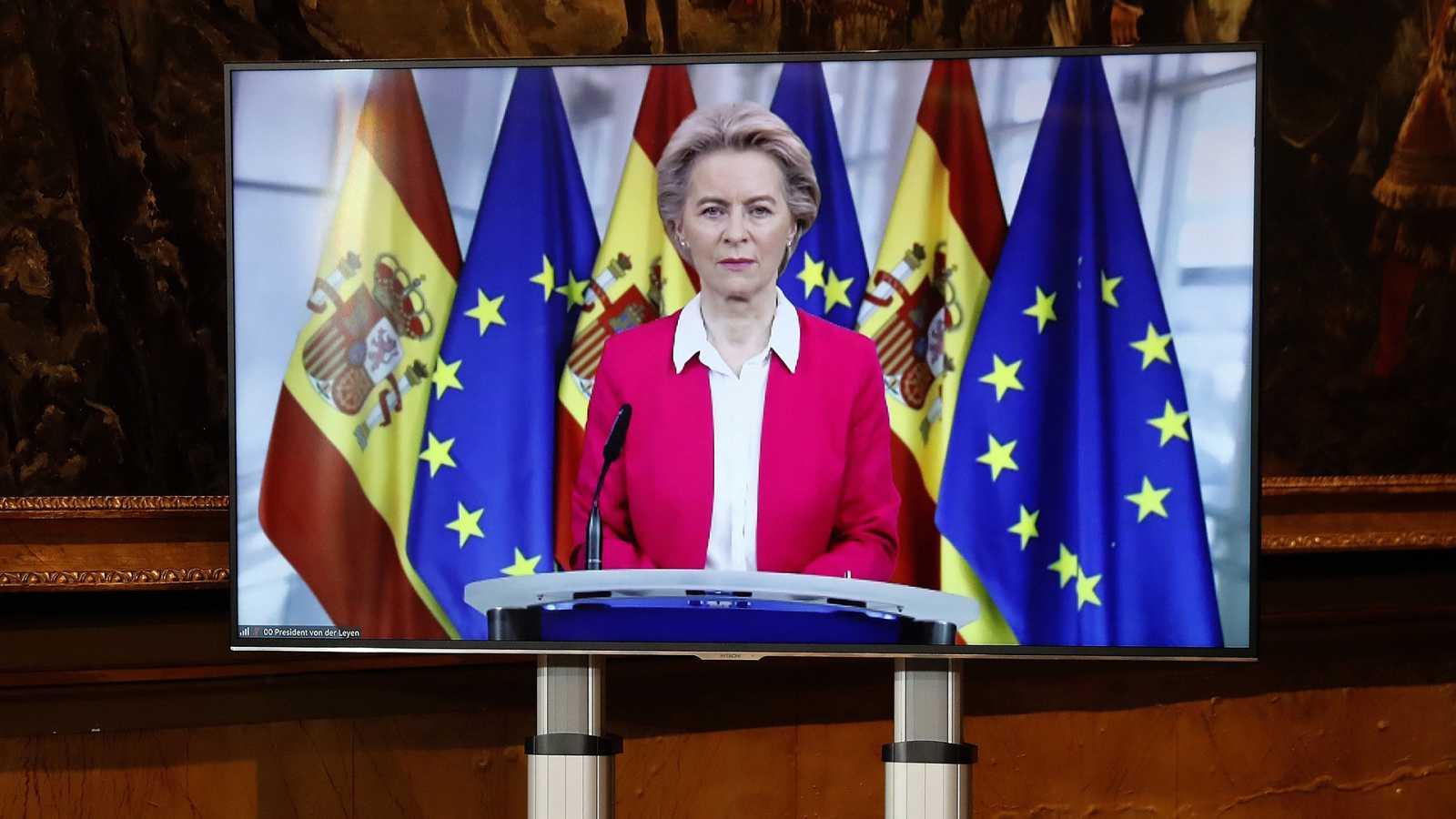 Europa abierta - Úrsula von der Leyen en la Conferencia de Presidentes Autonómicos - 26/10/20 - Escuchar ahora