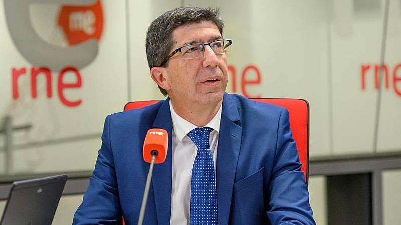 "24 horas - Marín (Cs): ""No descartamos ninguna medida en Andalucía"" - Escuchar ahora"