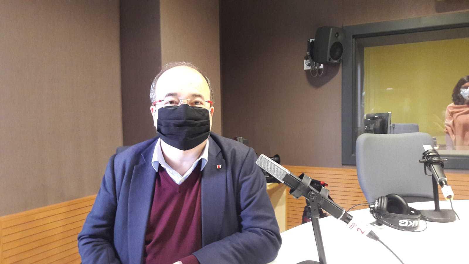 Las mañanas de RNE - Iceta aboga por dejar de lado los intereses partidistas en la lucha contra la pandemia - Escuchar ahora