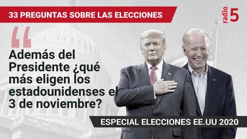 Especiales informativos RNE - Además del Presidente, ¿qué más eligen los estadounidenses el 3 de noviembre? - Escuchar ahora
