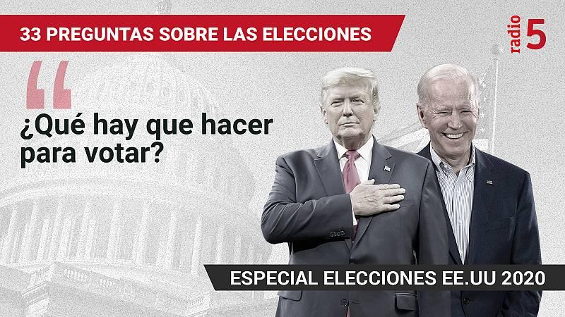 Especiales informativos RNE - ¿Qué hay que hacer para votar? - Escuchar ahora