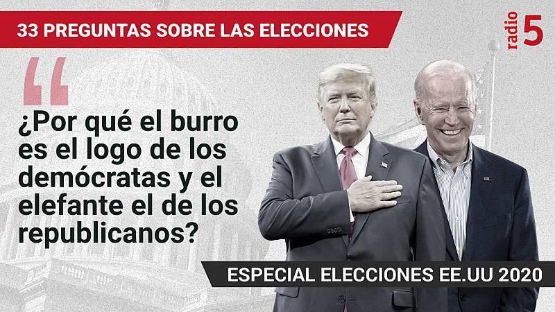 Especiales informativos RNE - ¿Por qué el burro es el logo de los demócratas y el elefante el de los republicanos? - Escuchar ahora