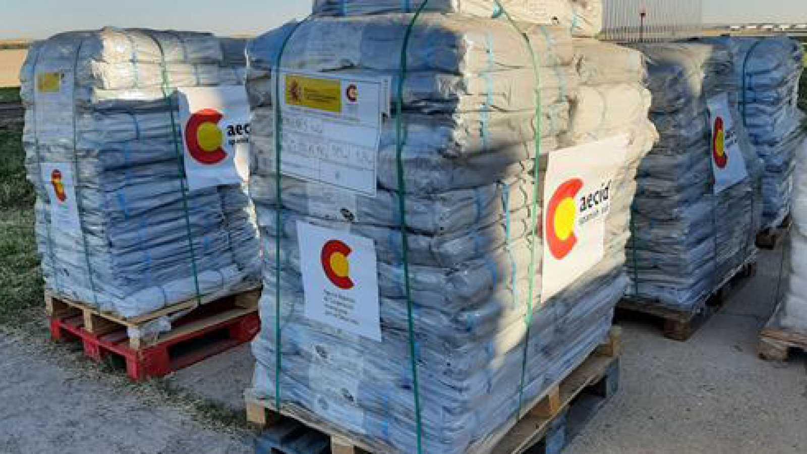 África hoy - España envía 15 toneladas de ayuda humanitaria a Níger - 27/10/20 - escuchar ahora