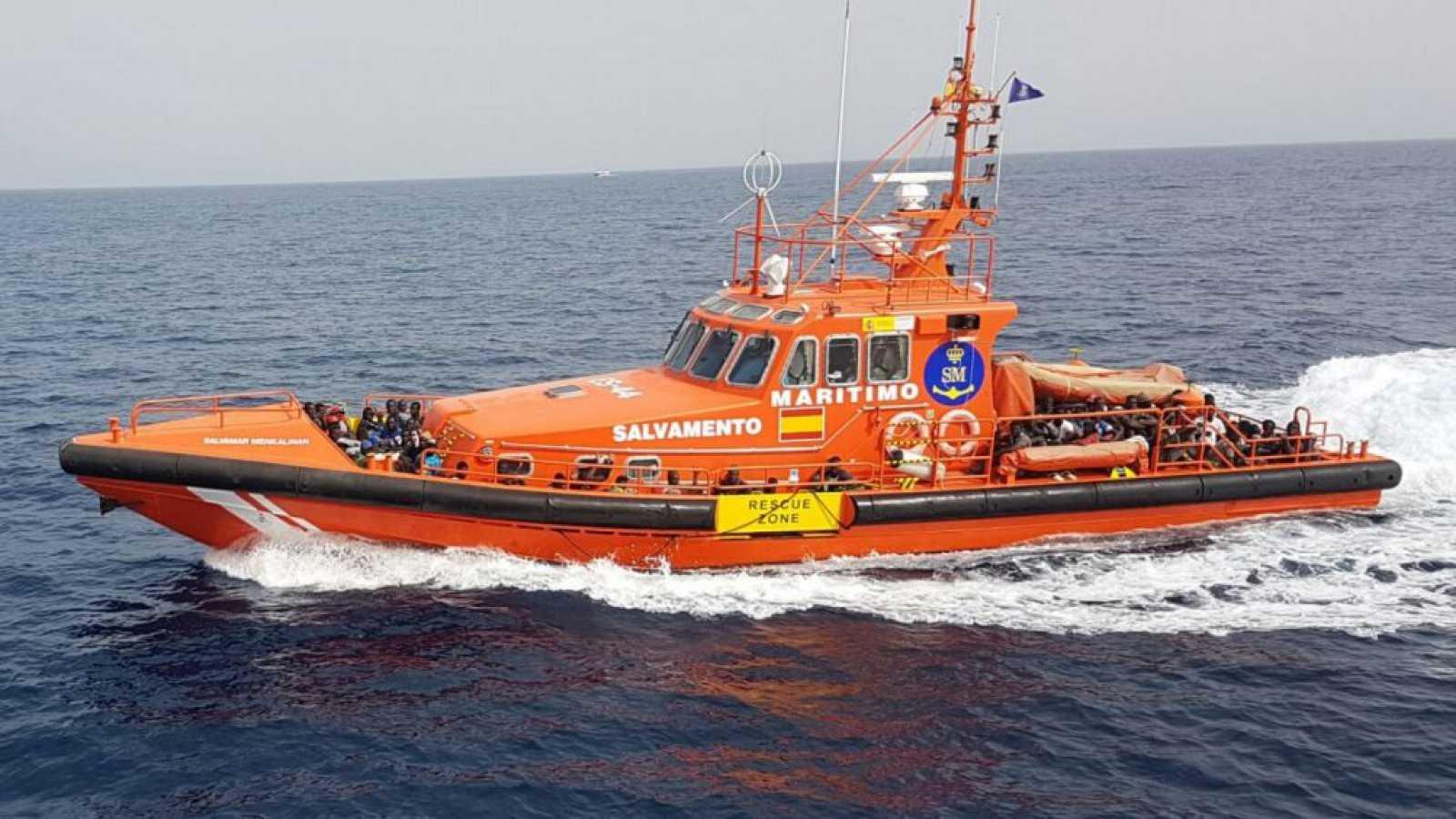Españoles en la mar - Situación de Salvamento Marítimo en Canarias - 27/10/20 - escuchar ahora