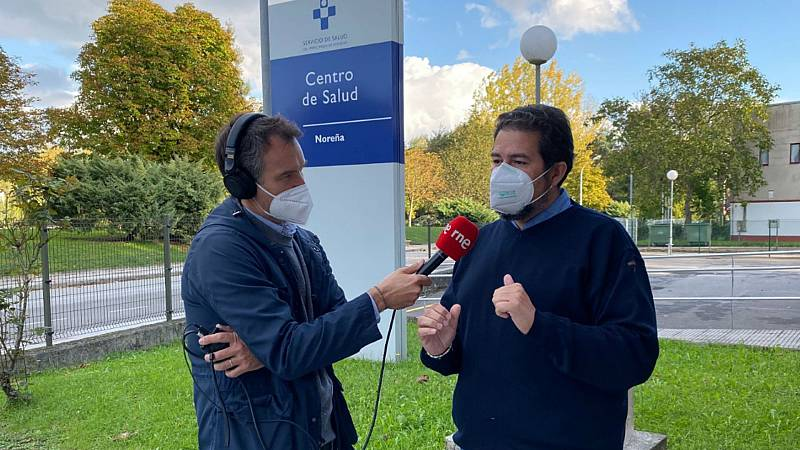 Las mañanas de RNE con Íñigo Alfonso - El día a día en el Centro de Salud de Noreña (Asturias) - Escuchar ahora