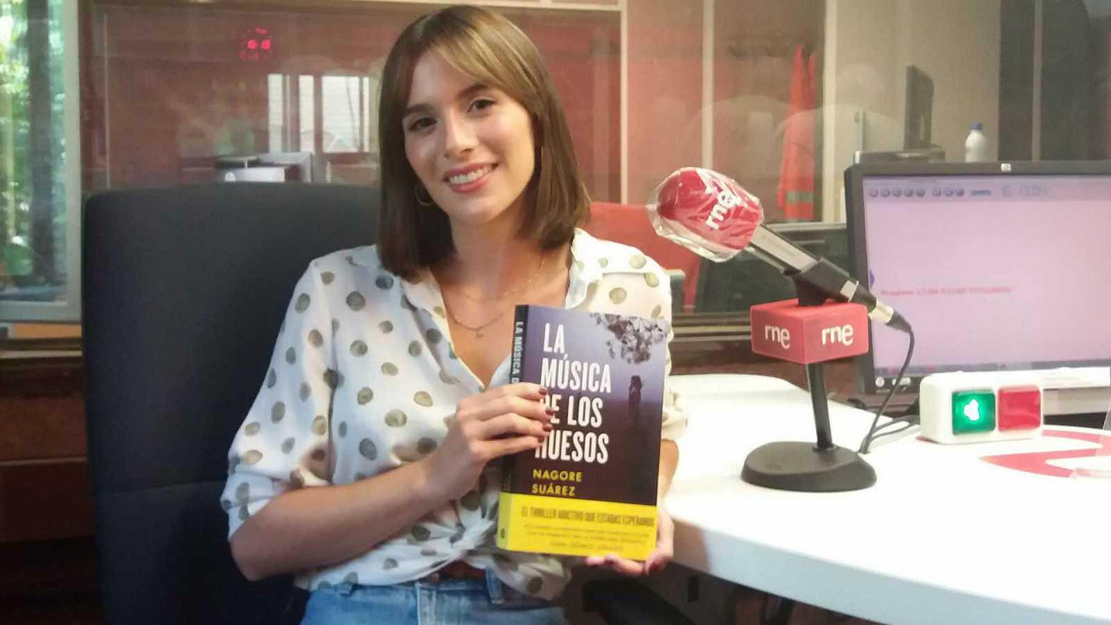 Libros de arena en Radio 5 -  Nagore Suárez y 'La música de los huesos' - 28/10/20 - Escuchar ahora