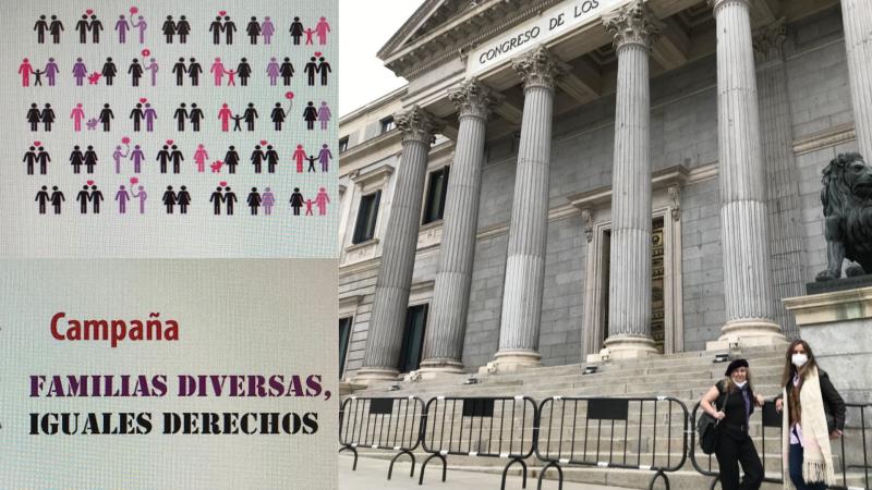 Más cerca - Piden una Ley de Igualdad de Diversidad Familiar - Escuchar ahora