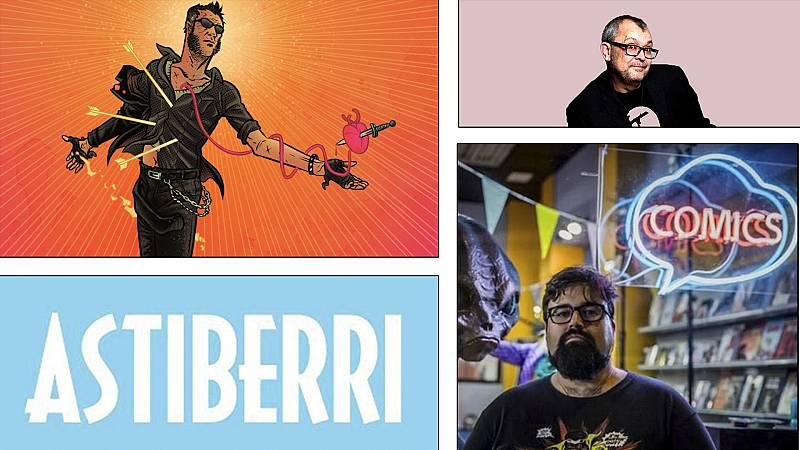¡Qué de cómics! - David Rubín, Astiberri y Orígenes secretos - Escuchar ahora