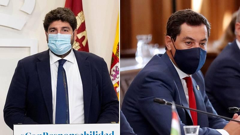 24 horas - Andalucía y Murcia también decretan el cierre perimetral - Escuchar ahora