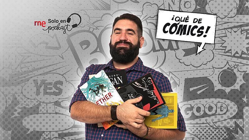 Las cuñas de RNE - RNE Solo en Podcast estrena '¡Qué de cómics!' - Escuchar ahora