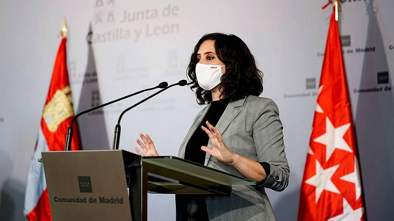 14 horas - Díaz Ayuso desafía al Gobierno y solo cerrará la Comunidad de Madrid durante los puentes - Escuchar ahora