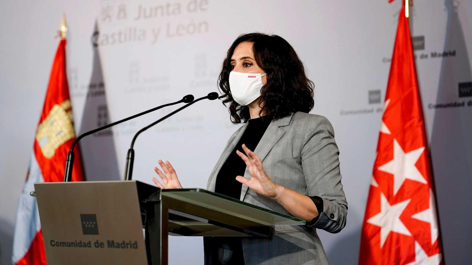 24 horas - El Gobierno permite a Madrid cerrar solo cuatro días, durante el puente de Todos los Santos - Escuchar ahora
