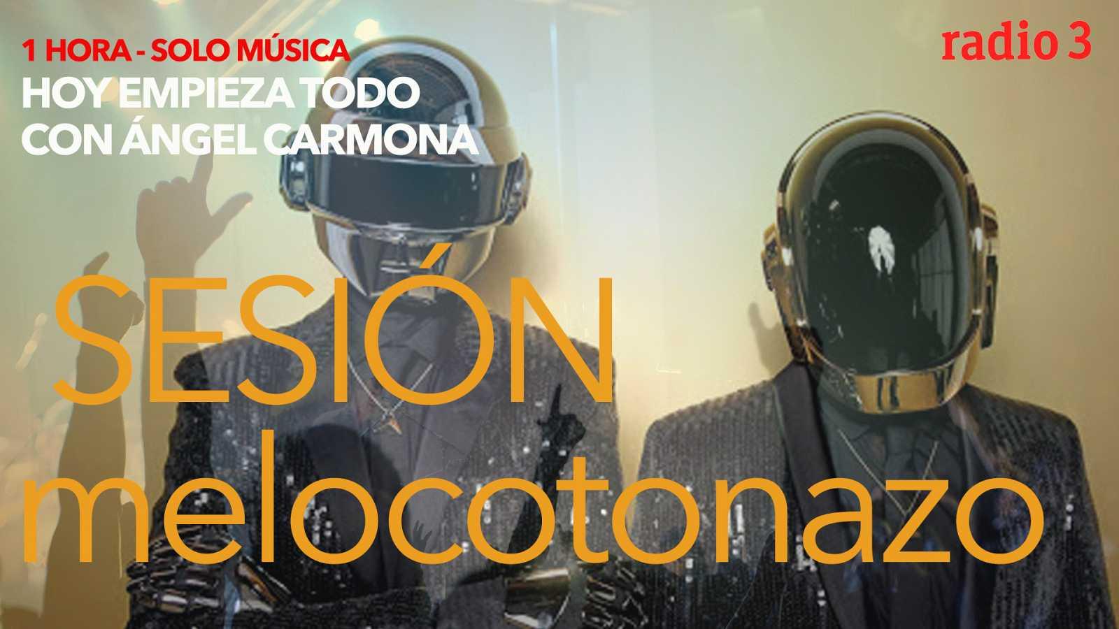 Hoy empieza todo con Ángel Carmona - #SesiónMelocotonazo: Jefferson Airplane, Daft Punk, Arde Bogotá... - 30/10/20 - escuchar ahora