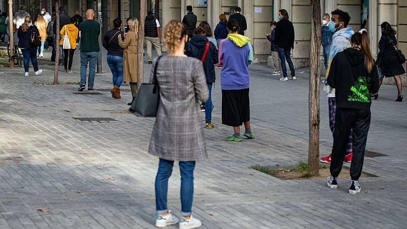 Edició Migdia Catalunya - Primer dia de confinament perimetral a Catalunya