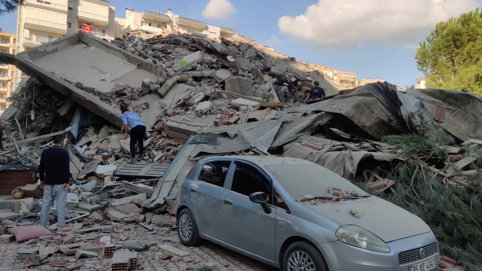 14 horas - Un terremoto de 6,8 grados sacude Turquía y las islas griegas - Escuchar ahora