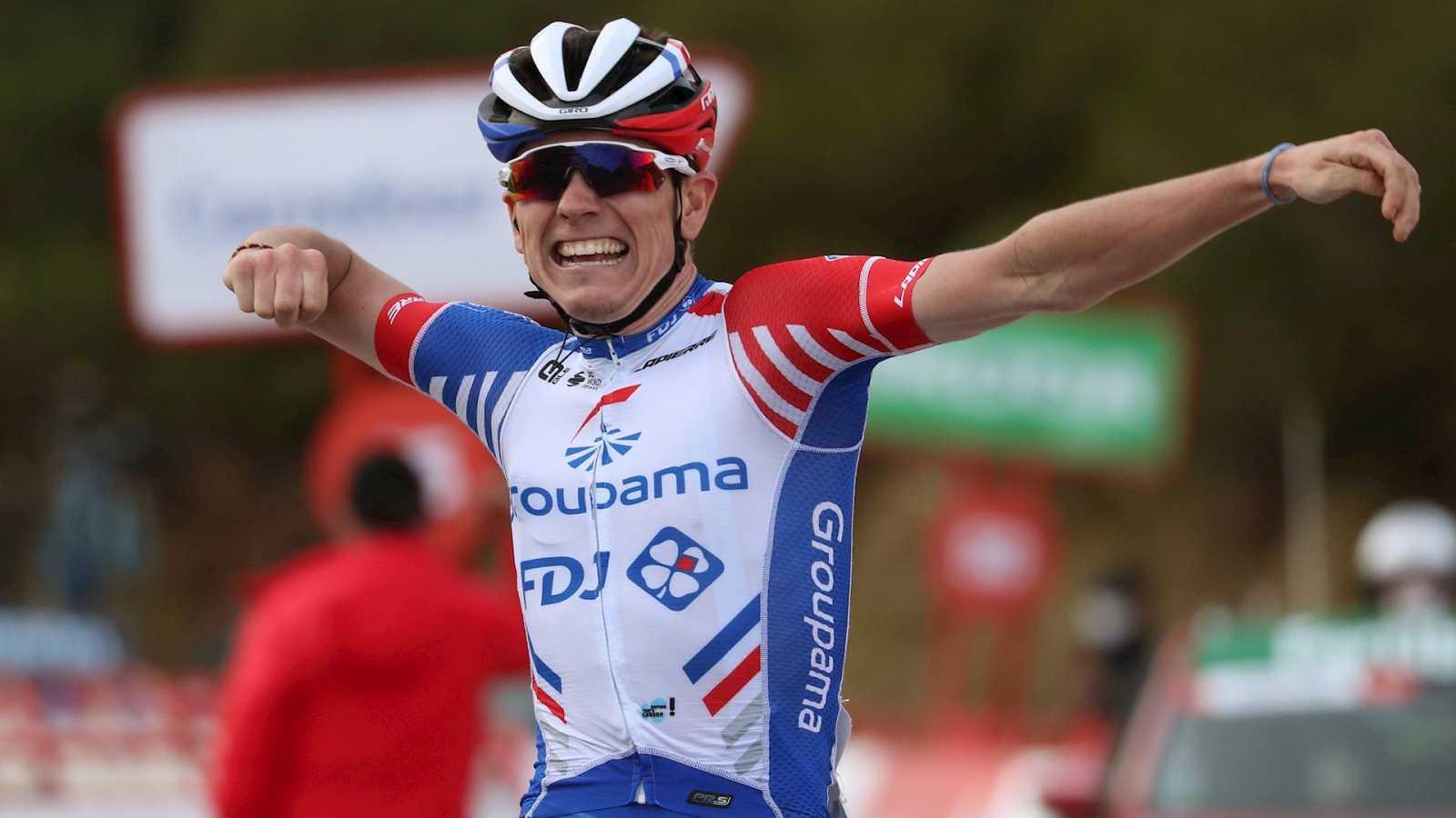 Vuelta ciclista a España - Victoria de David Gaudu en la etapa 11 - Escuchar ahora