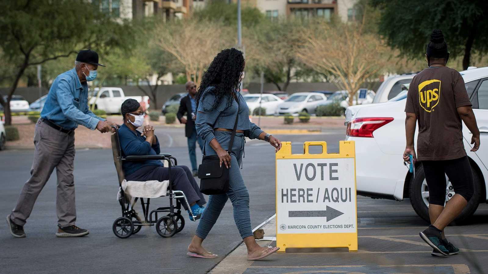 Reportajes 5 Continentes - Elecciones EE.UU.: la importancia de los Swing States - Escuchar ahora