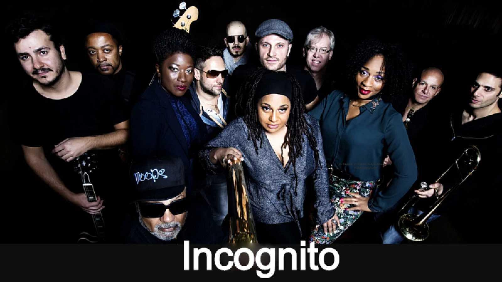 Próxima parada - Nuevo de Incognito & Justin Lee Schultz y Cory Henry - 13/11/20 - escuchar ahora