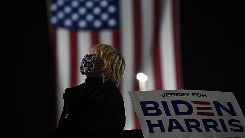 14 horas - El apretado recuento en Pensilvania, Michigan y Wisconsin deja en el aire la presidencia de Estados Unidos - Escuchar ahora