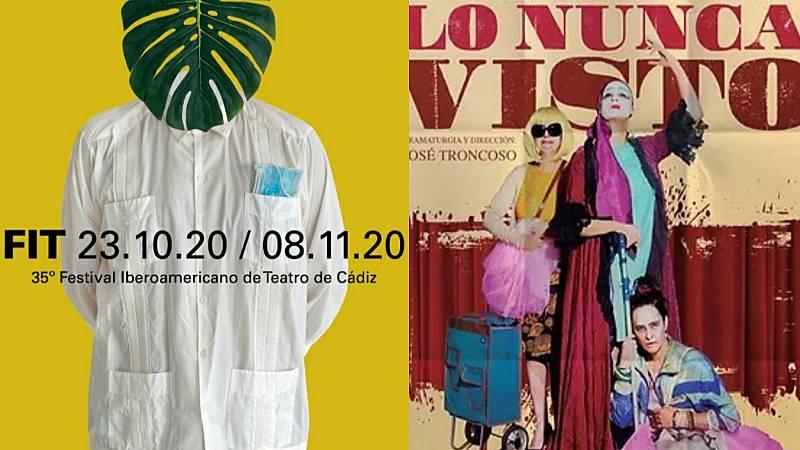En escena - En Cádiz con el FIT, 'Los días felices' y 'Lo nunca visto' - 04/11/20 - Escuchar ahora