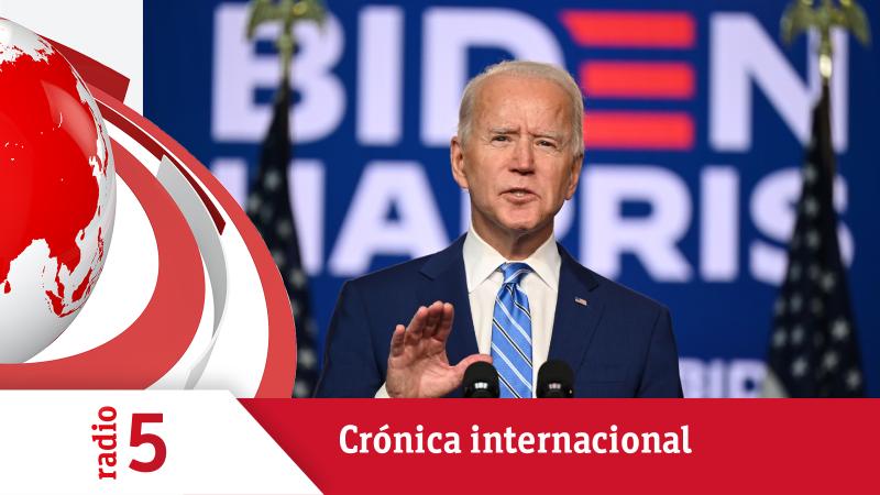 Crónica Internacional - El recuento acerca a Joe Biden a la presidencia de EEUU - Escuchar ahora