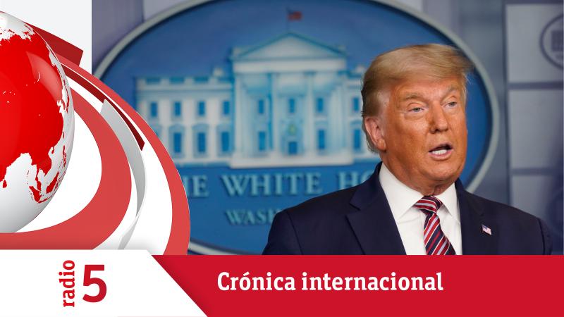 Crónica internacional - Trump insiste en denunciar fraude mientras sigue el recuento - Escuchar ahora
