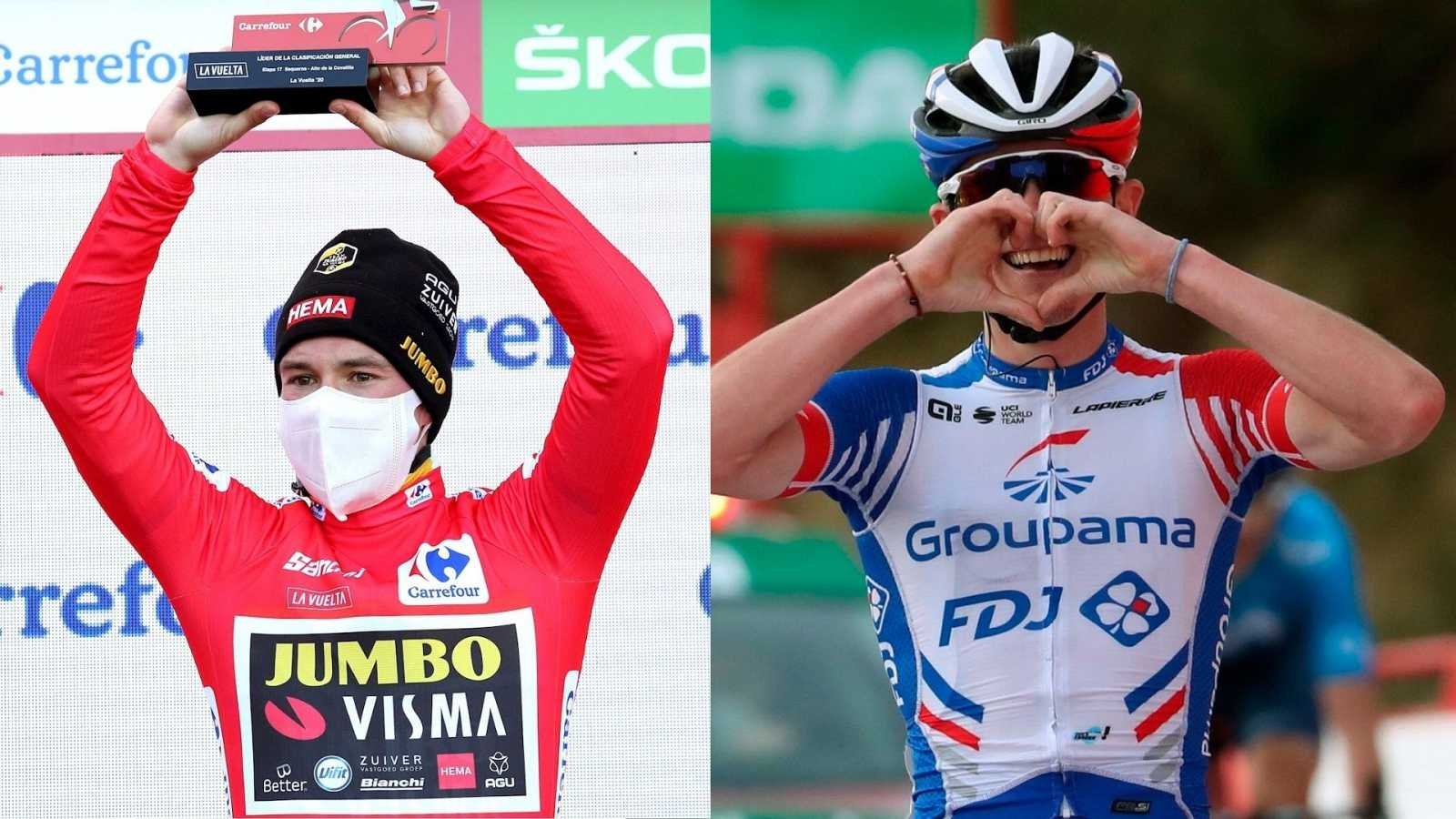Vuelta ciclista a España - Gaudu gana la 17ª etapa y Roglic se lleva La Vuelta - Escuchar ahora