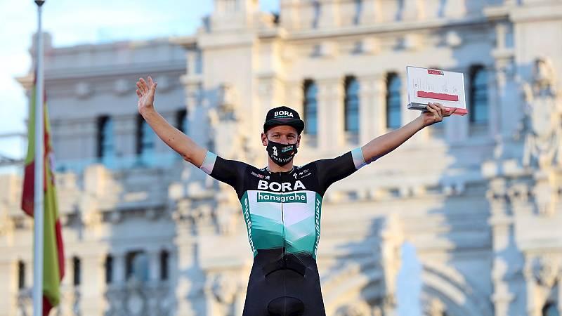 Vuelta ciclista a España - Pascal Ackerman se lleva la última etapa de La Vuelta - Escuchar ahora