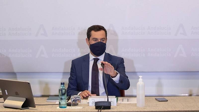 20 horas informativos Fin de semana - Moreno endurece las medidas en Andalucía: toque de queda, cierre perimetral y de establecimientos y clases universitarias suspendidas - Escuchar ahora