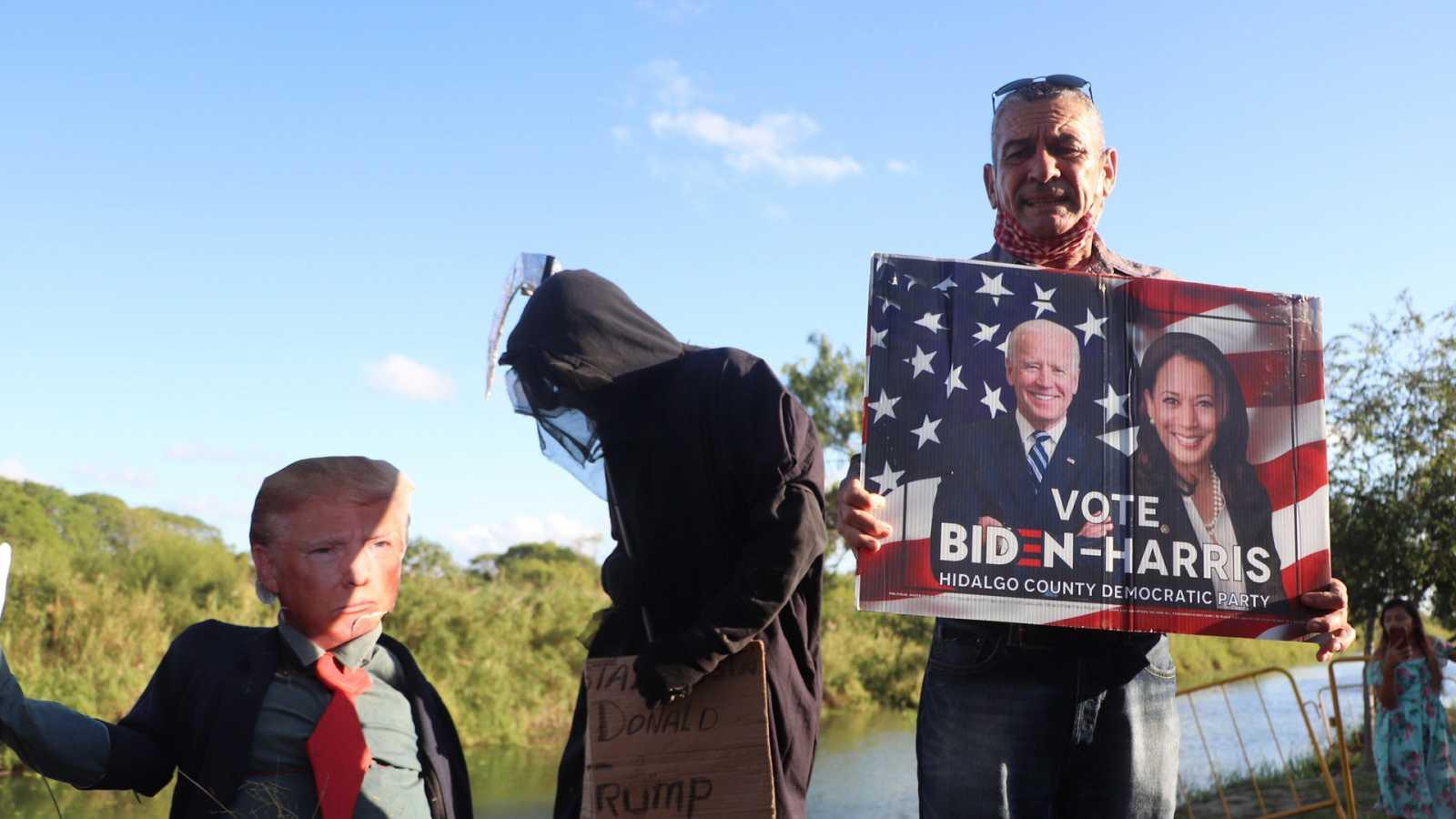 Hora América - La movilización latina una de las claves de la victoria de Joe Biden - 09/11/20 - Escuchar ahora