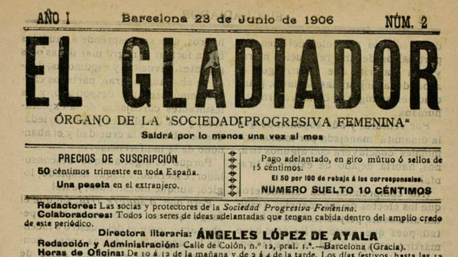 Mujeres malditas -  Ángeles López de Ayala - 10/11/20 - Escuchar ahora
