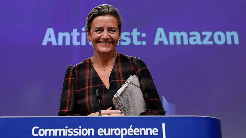 14 horas - Bruselas acusa a Amazon de usar datos de empresas que venden en su plataforma para robarles clientes - Escuchar ahora