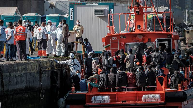 14 horas - El hambre y las guerras en África explican el aumento de las llegadas de migrantes a Canarias - Escuchar ahora