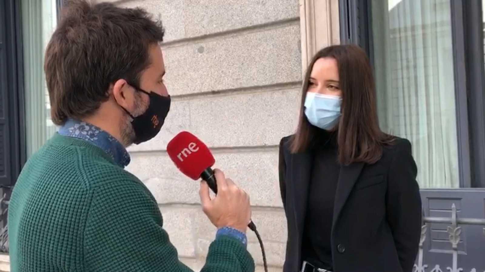 Parlamento - Radio 5 - El Rincón: Andrea Fernández - Escuchar ahora