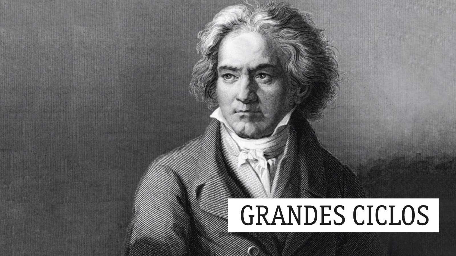 Grandes ciclos - L. van Beethoven (CXXII): La reducción de la inmensidad del pensamiento - 13/11/20 - escuchar ahora