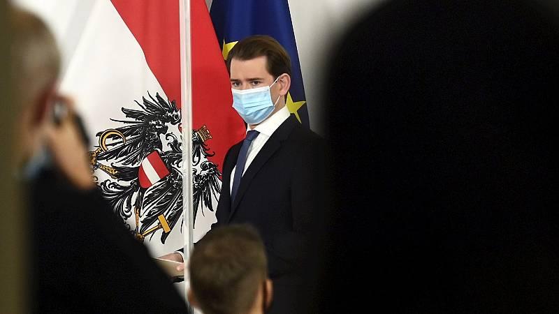 Boletines RNE - Austria decreta un confinamiento estricto a partir del lunes similar al del inicio de la pandemia - Escuchar ahora