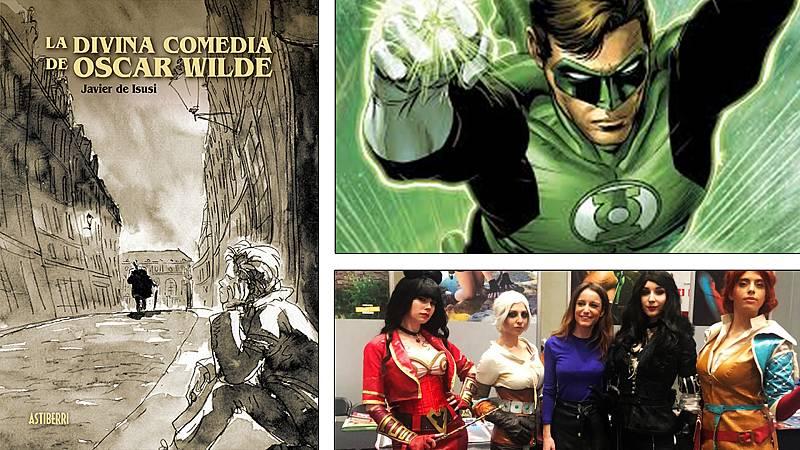 ¡Qué de cómics! - Javier de Isusi, Linterna Verde y Andrea Levy - Escuchar ahora