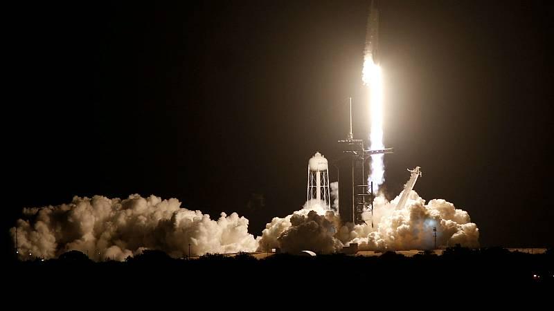 Las mañanas de RNE con Íñigo Alfonso - Éxito en el lanzamiento de la primera misión tripulada regular - Escuchar ahora