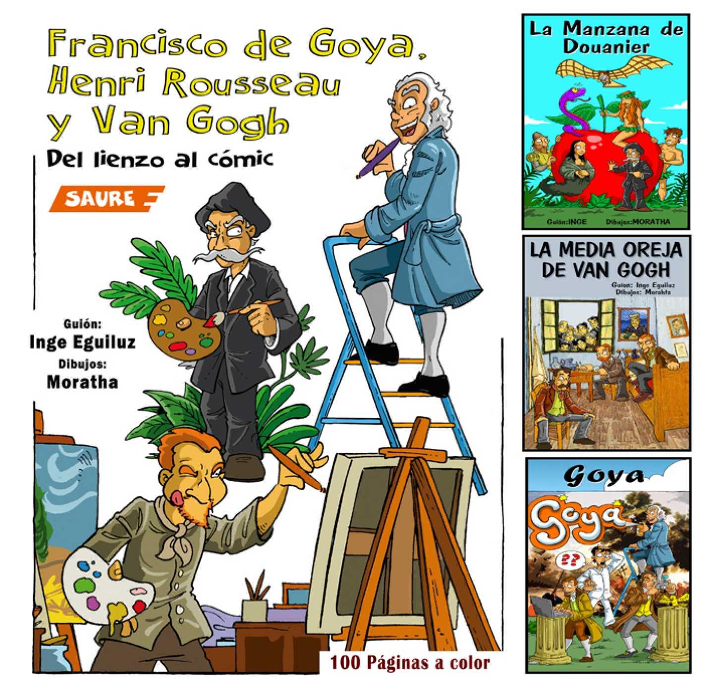 Viñetas y bocadillos - 'Goya, Rousseau Y Van Gogh. Del lienzo al cómic' - 16/11/20 - Escuchar ahora