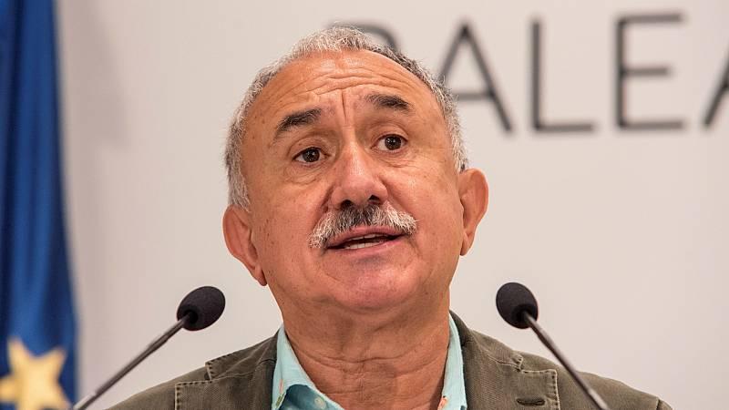 """Las mañanas de RNE con Íñigo Alfonso - Pepe Álvarez pide a los bancos que eviten los despidos: """"Deben recordar el esfuerzo que hizo el país para rescatarles en la anterior crisis"""" - Escuchar ahora"""