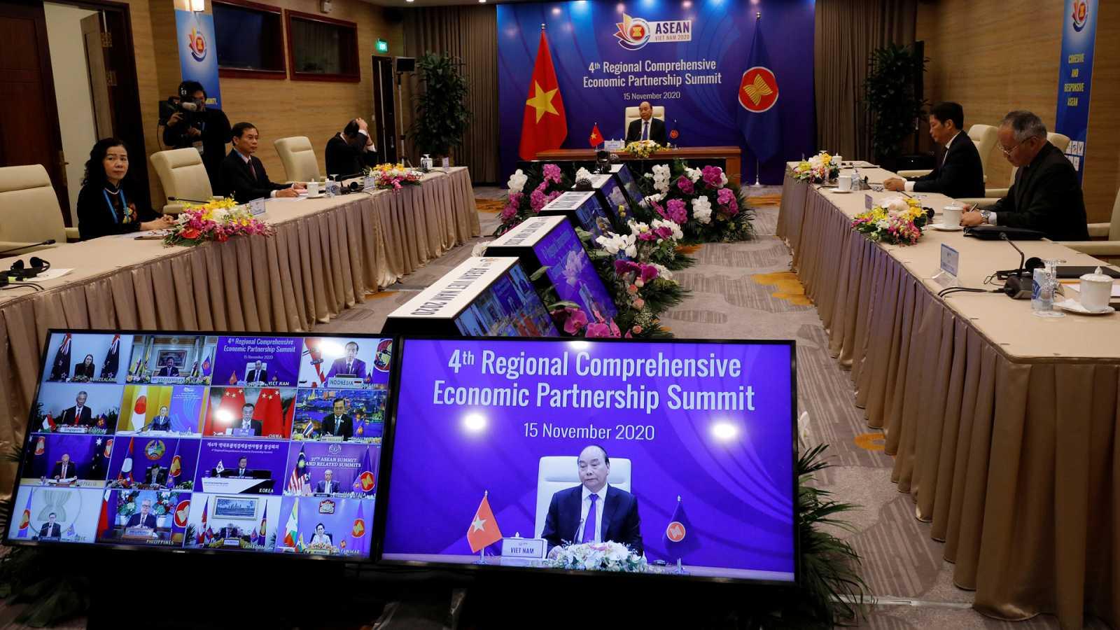 Aasia hoy - Claves de la Asociación Económica Integral Regional (RCEP) - 17/11/20 - escuchar ahora